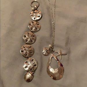 Necklace bracelet set